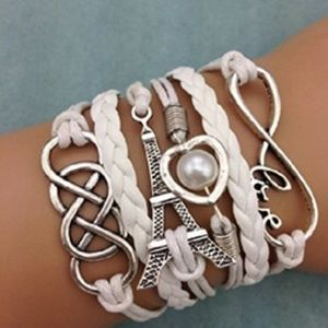 Jewelry - Love Forever Charm Friendship Bracelet